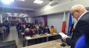 Tadeusz Morawski, zastępca dyrektora ŁODR serdecznie przywitał wykładowców i uczestników szkolenia