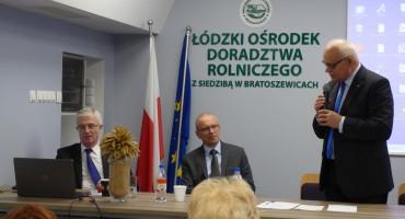 Wykładowcy: prof. dr hab. Krzysztof Kwiatek, prof. dr hab. Dariusz Bednarek oraz  Z-ca dyr. ŁODR, Tadeusz Morawski