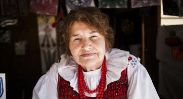 Zdjęcie przedstawia Panią Kazimierę Balcerzak